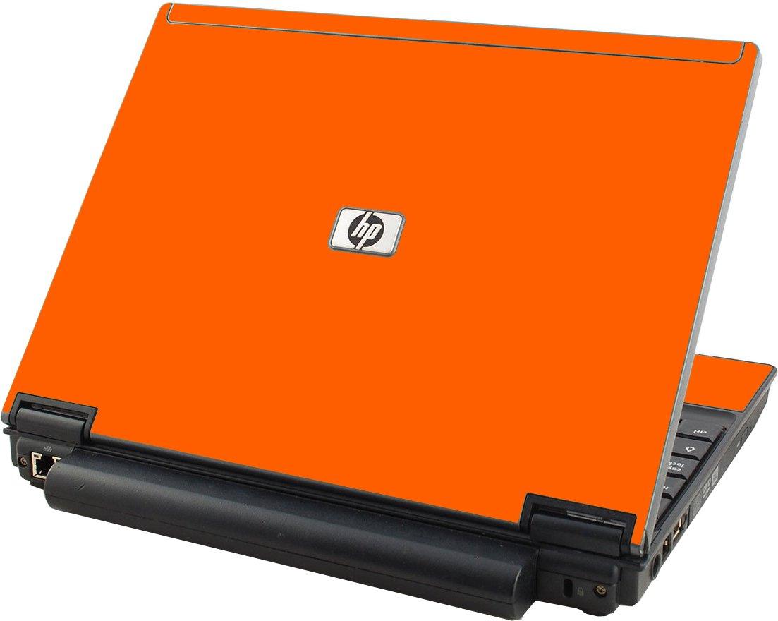 Orange HP Compaq 2510P Laptop Skin