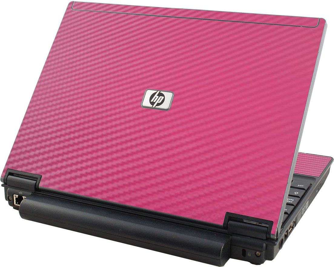 Pink Carbon Fiber HP Compaq 2510P Laptop Skin
