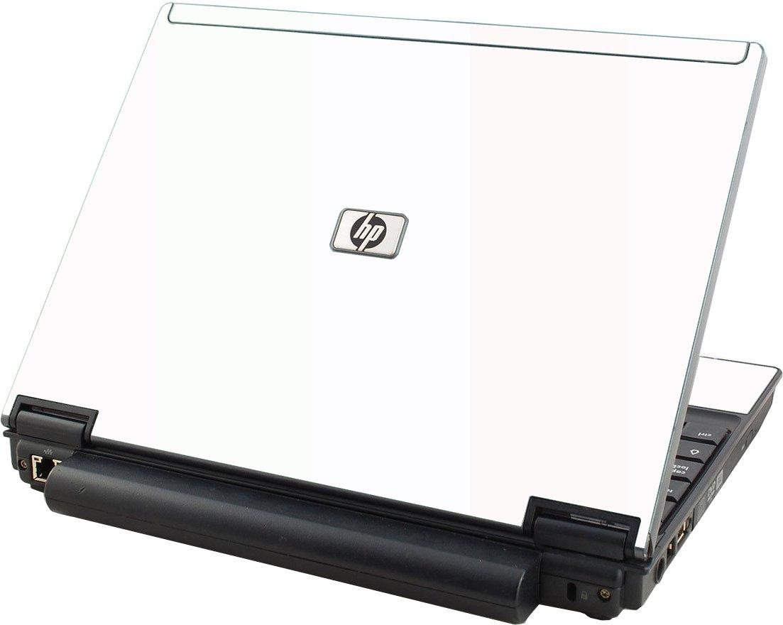 White HP Compaq 2510P Laptop Skin