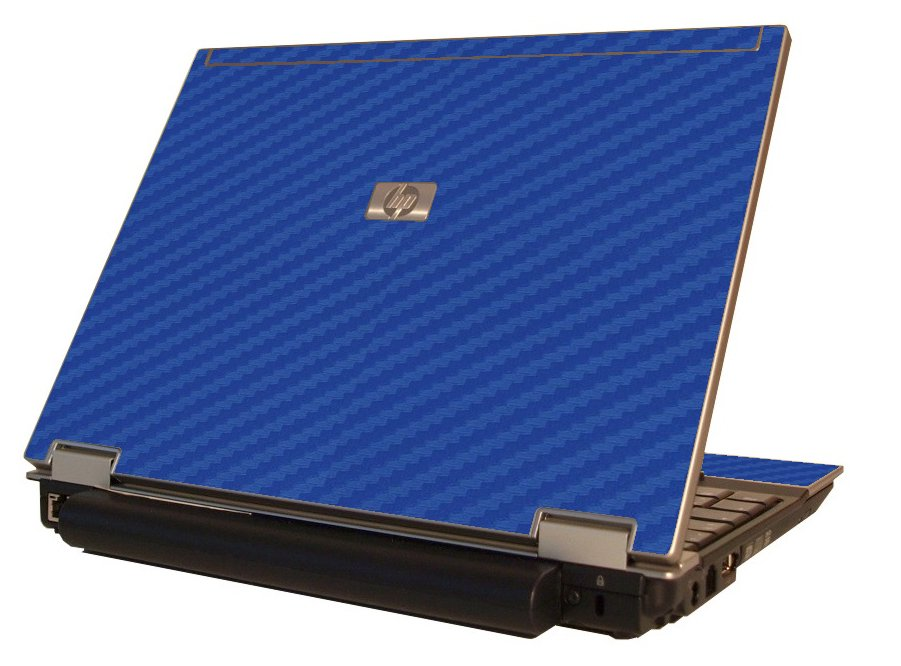 Blue Carbon Fiber  HP Elitebook 2530P Laptop Skin