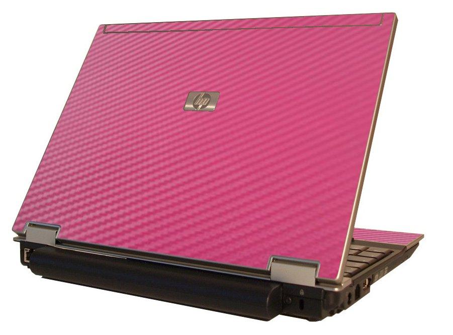Pink Carbon Fiber HP Elitebook 2530P Laptop Skin
