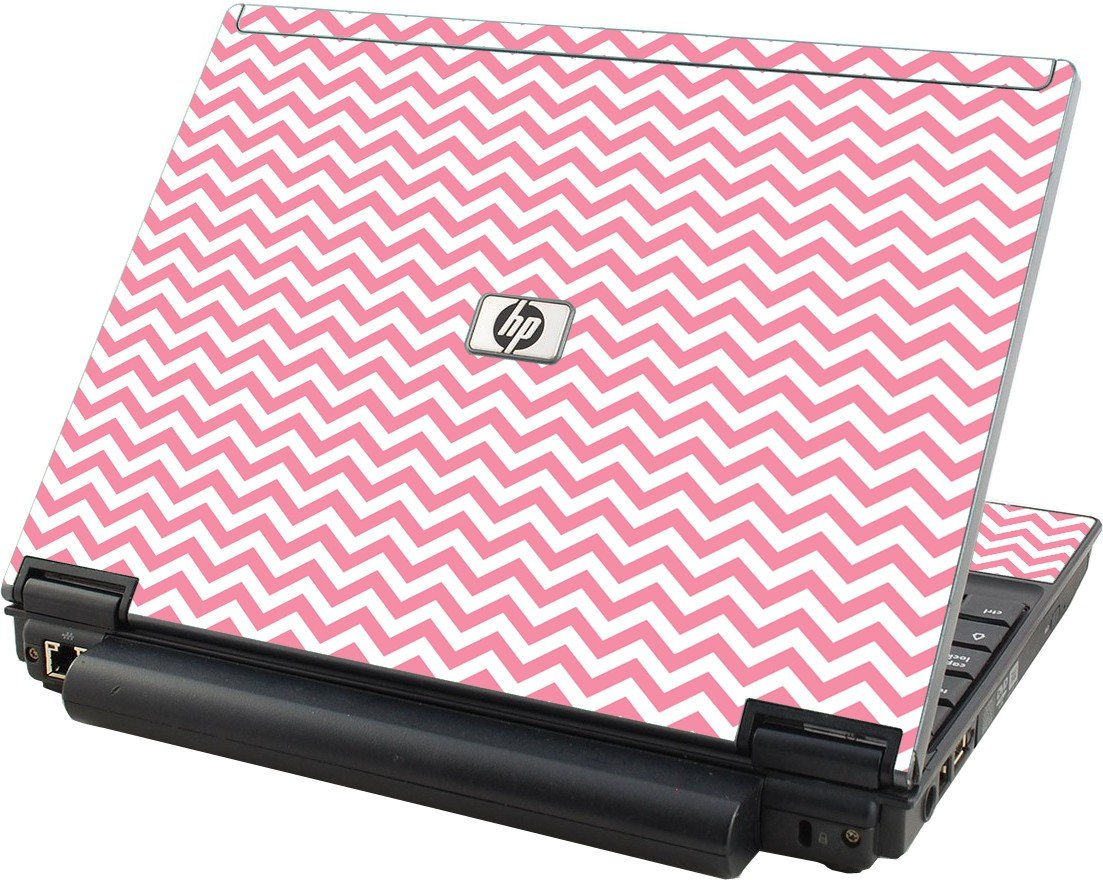 Pink Chevron Waves HP Elitebook 2530P Laptop Skin
