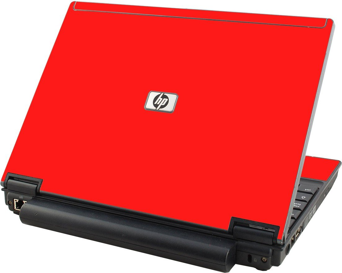Red HP Elitebook 2530P Laptop Skin