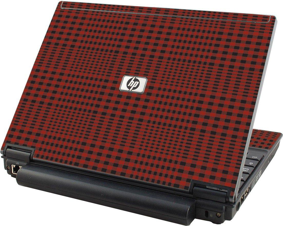 Red Flannel Hp Elitebook 2530p Laptop Skin Lidstyles Com