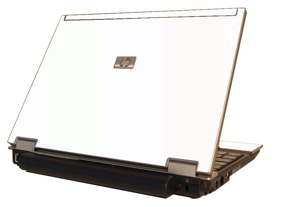 White HP Elitebook 2530P Laptop Skin