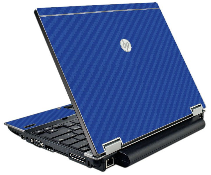 Blue Carbon Fiber  HP Elitebook 2540P Laptop Skin