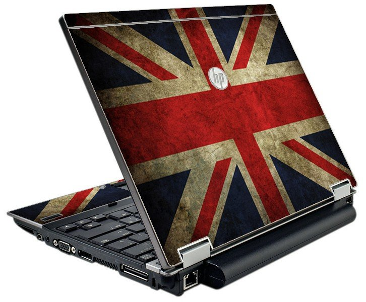 British Flag HP Elitebook 2540P Laptop Skin