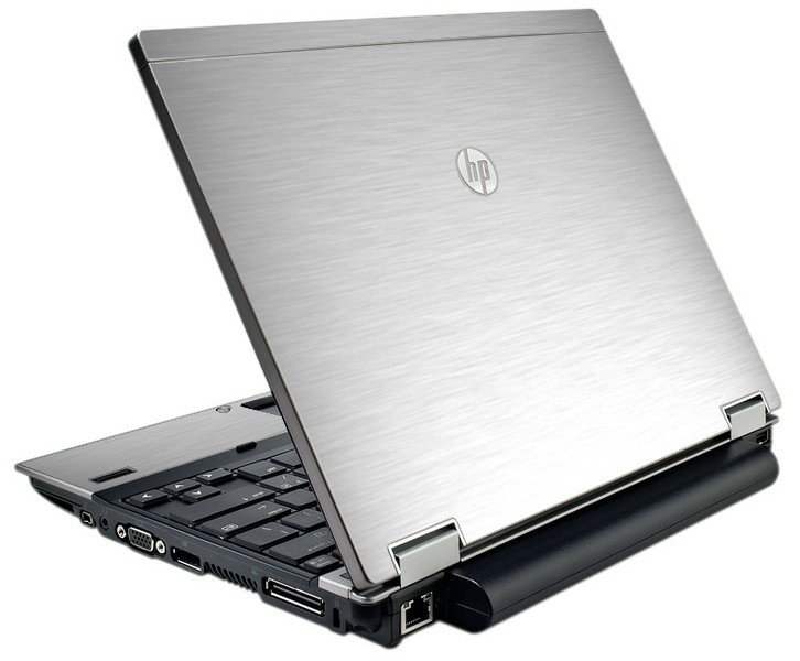 Mts #1 Textured Aluminum HP Elitebook 2540P Laptop Skin