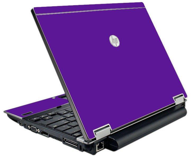 Purple HP Elitebook 2540P Laptop Skin