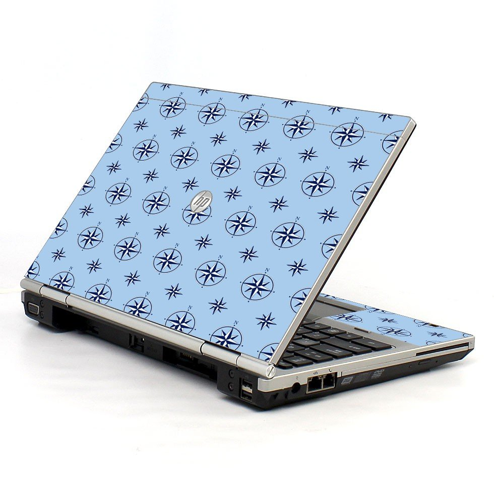 Nautical Blue HP EliteBook 2560P Laptop Skin