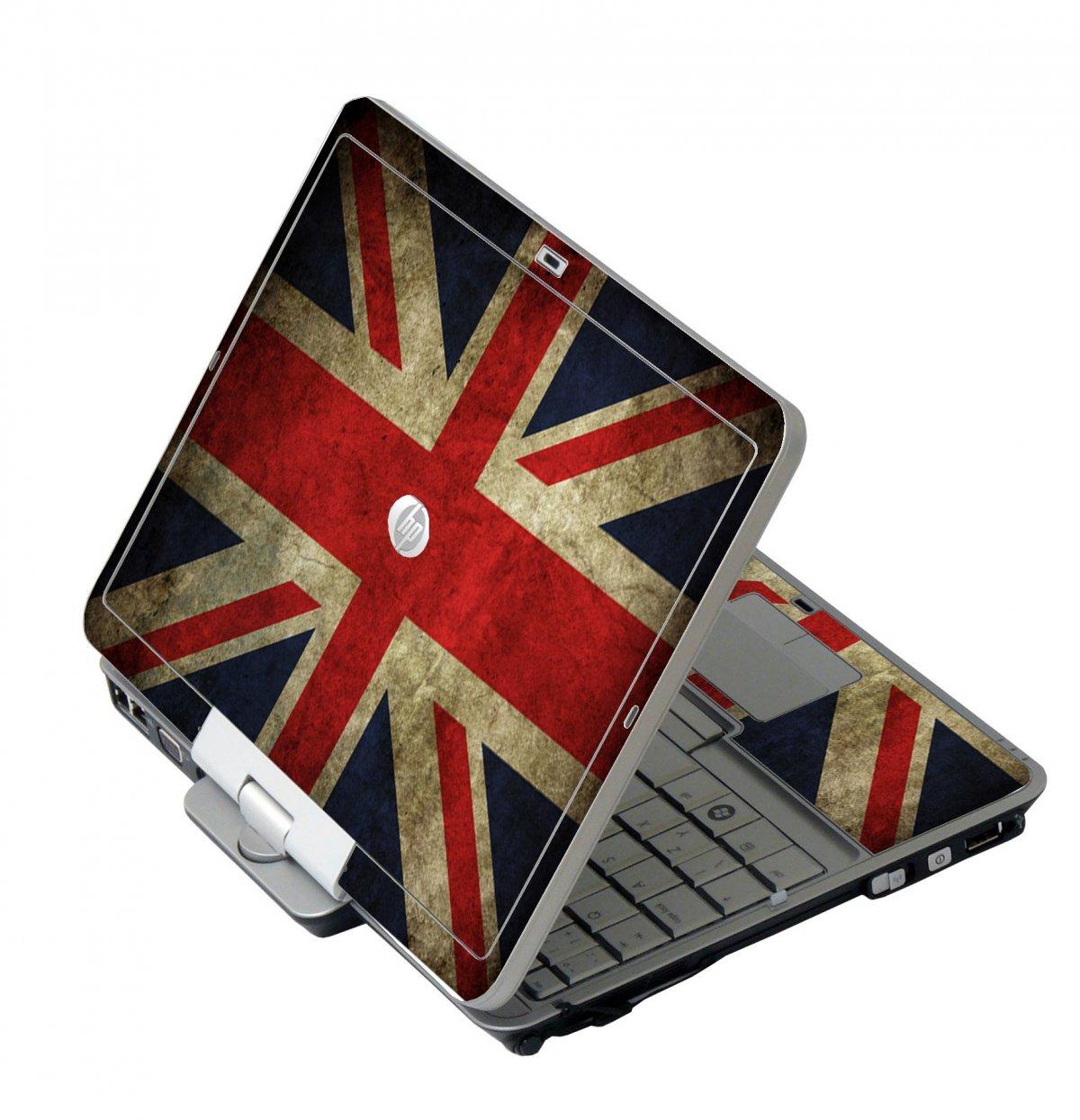 British Flag HP EliteBook 2730P Laptop Skin