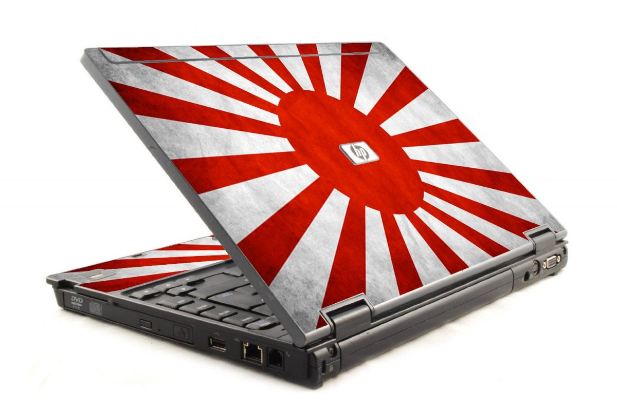 Japanese Flag HP Compaq 6910P Laptop Skin