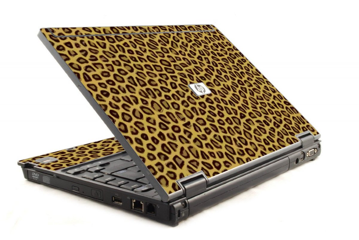 Leopard Print HP Compaq 6910P Laptop Skin