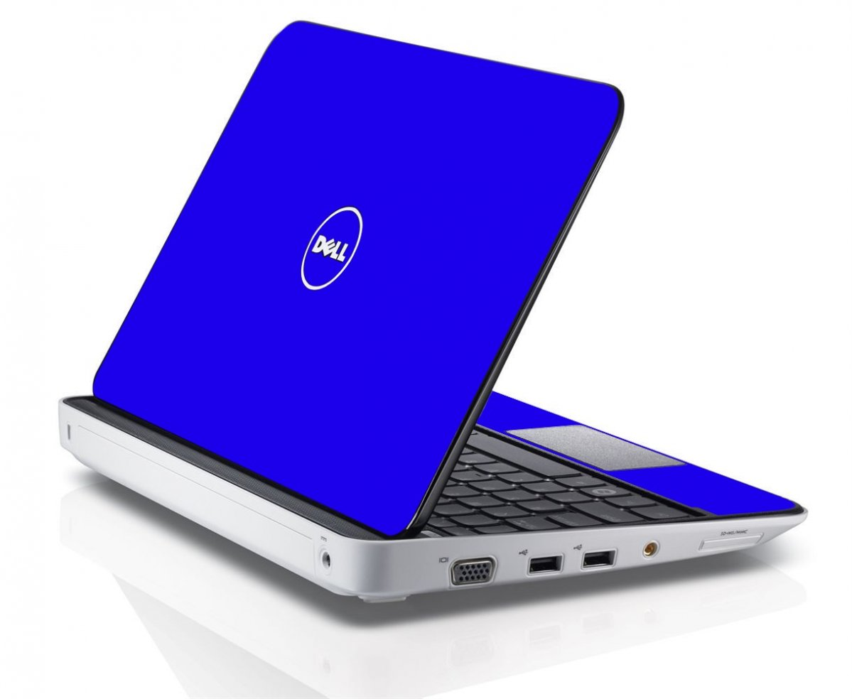 BLUE Dell Inspiron Mini 10 1012 Skin