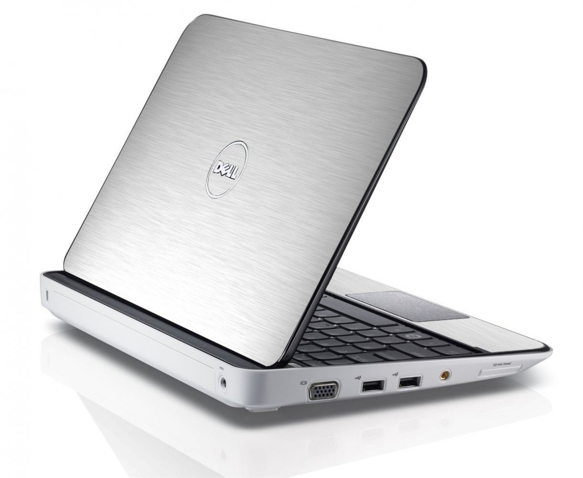 MTS#1 TEXTURED ALUMINUM Dell Inspiron Mini 10 1012 Skin