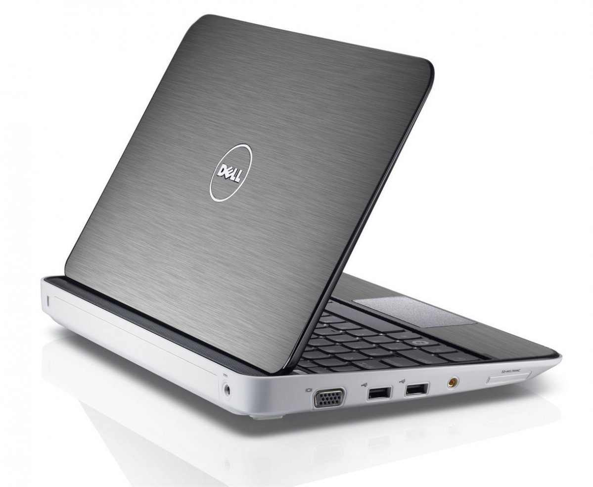 MTS#2 TEXTURED SILVER Dell Inspiron Mini 10 1012 Skin