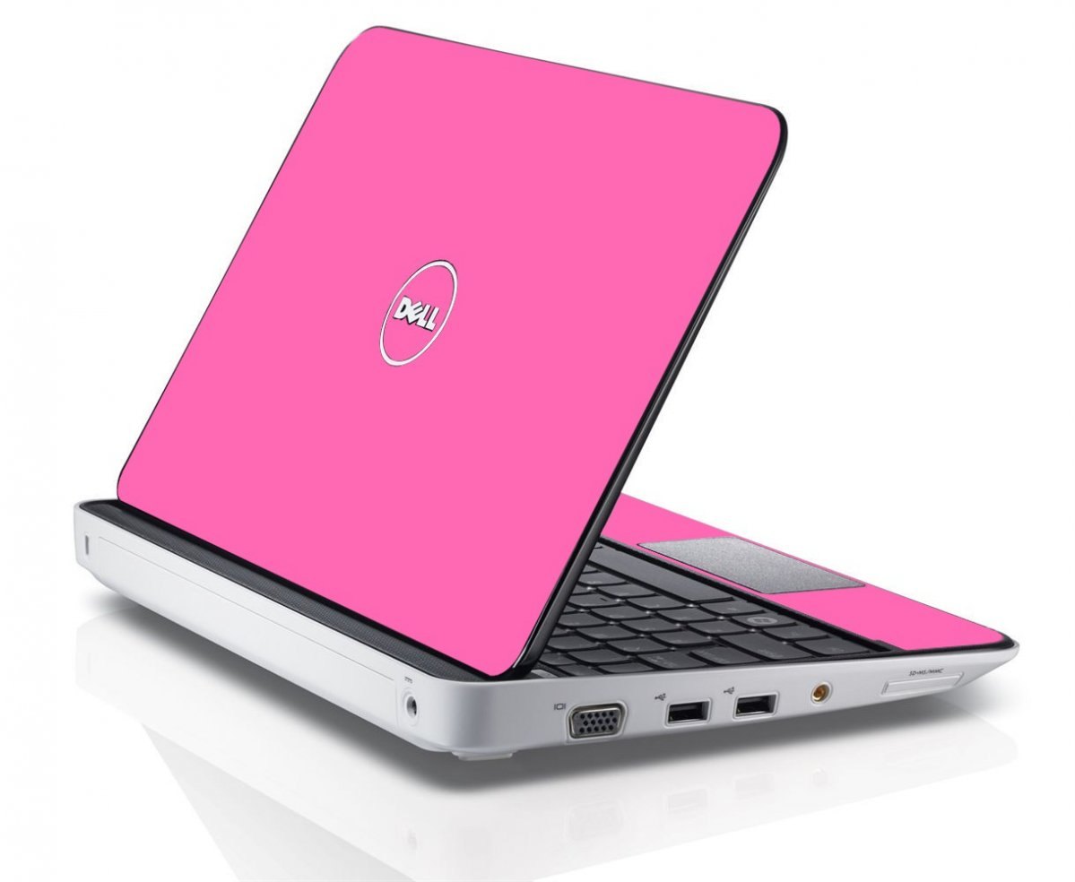 PINK Dell Inspiron Mini 10 1012 Skin