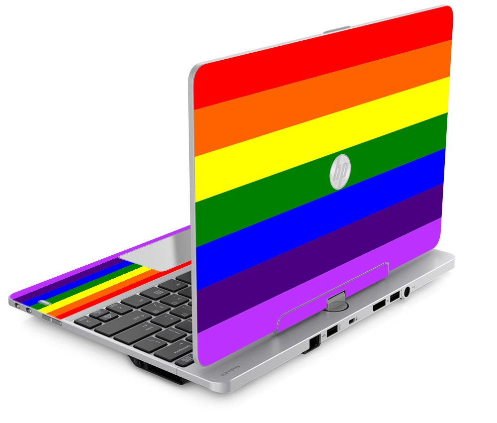 PRIDE FLAG HP EliteBook Revolve 810 G1 G2 G3 Laptop Skin