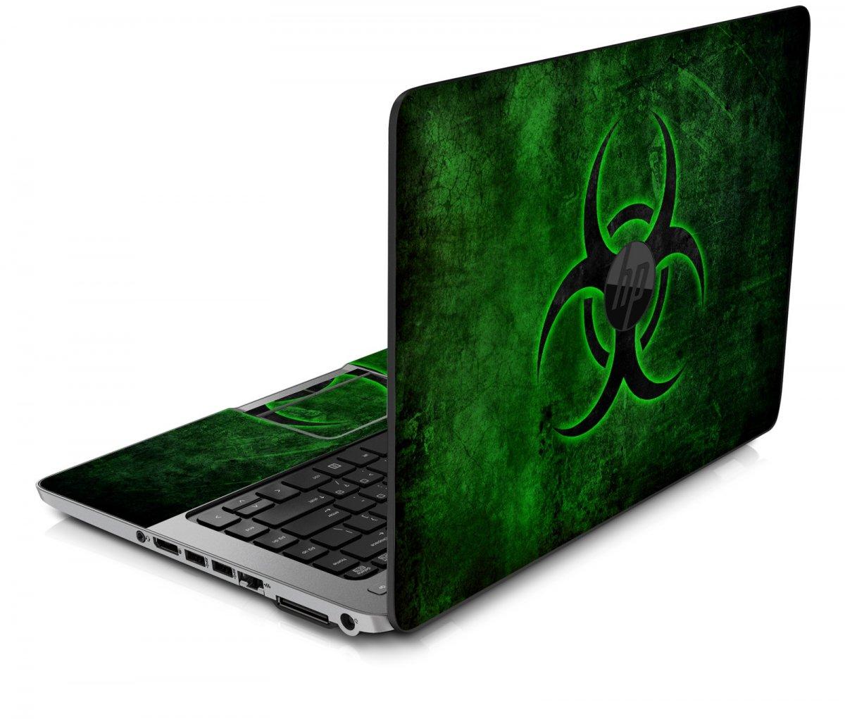 GREEN BIOHAZARD HP ProBook 850 G1 Skin