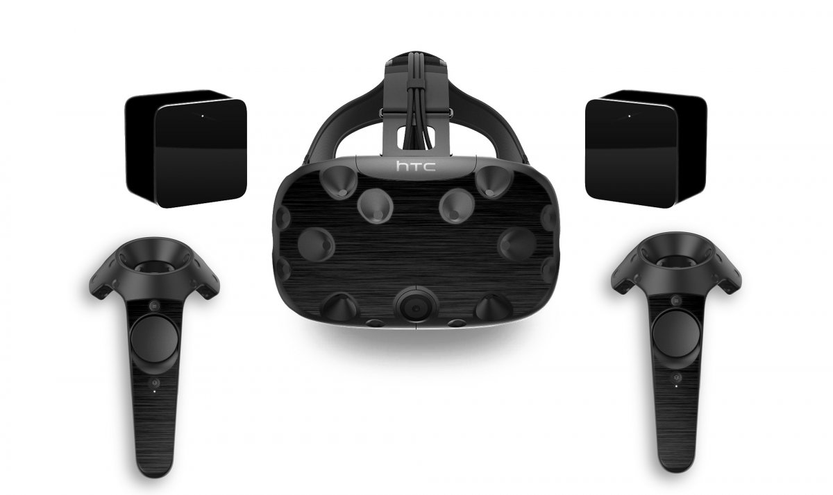 MTS TEXTURED BLACK HTC VIVE VR SKIN