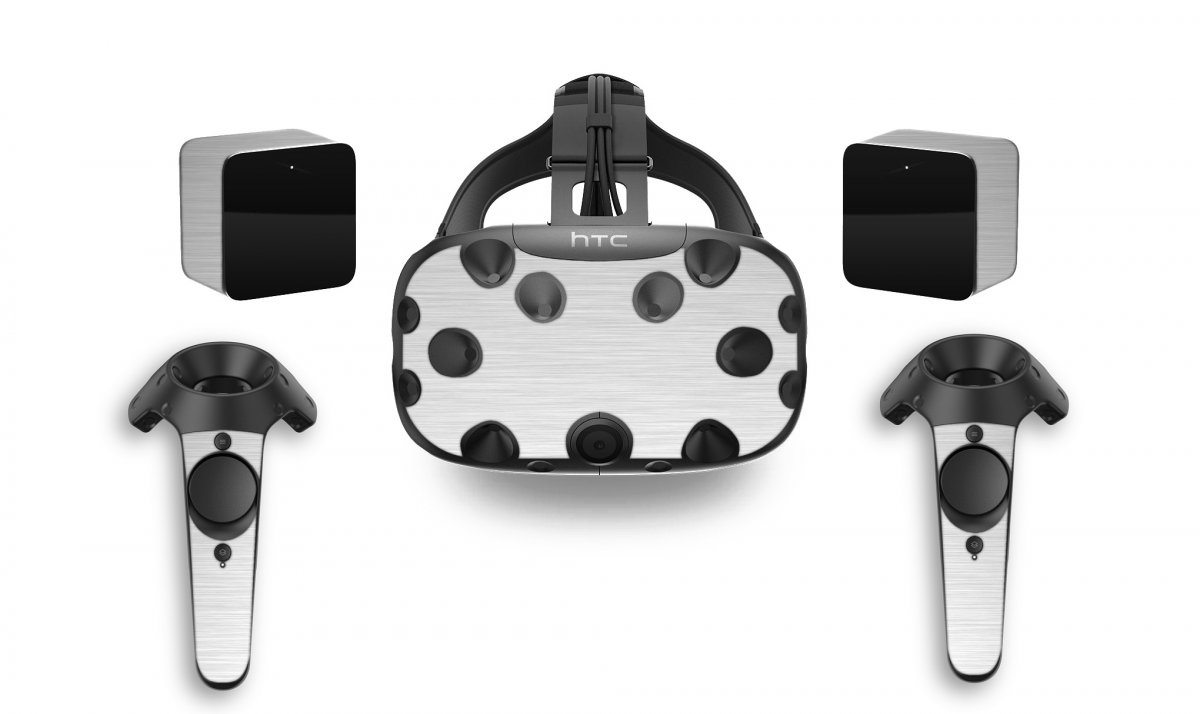MTS#1 TEXTURED ALUMINUM HTC VIVE VR SKIN