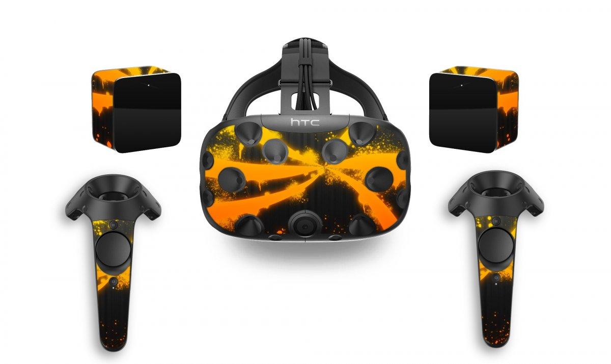 ORANGE TWIST HTC VIVE VR SKIN