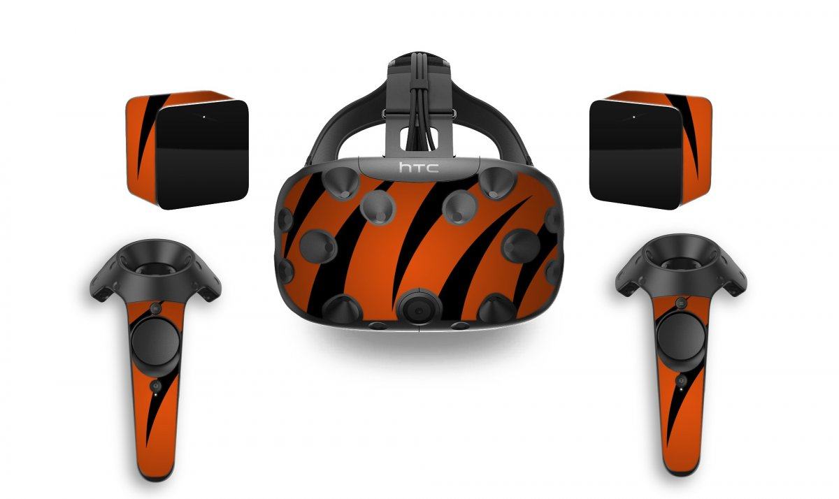 TIGER STRIPES HTC VIVE VR SKIN