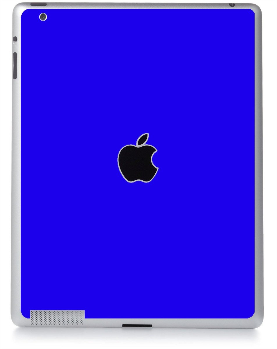 BLUE Apple iPad 2 A1395 SKIN