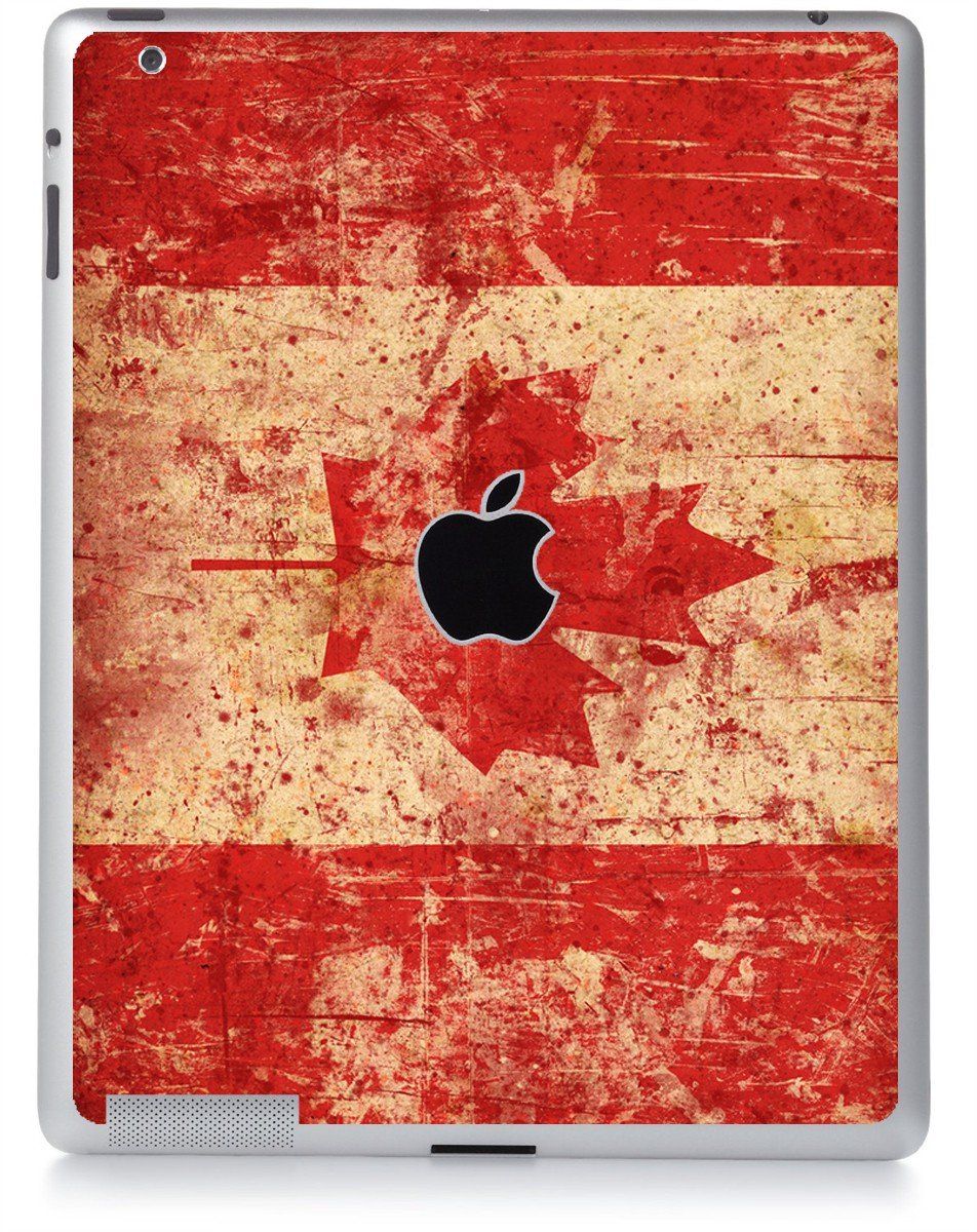 CANADIAN FLAG Apple iPad 2 A1395 SKIN