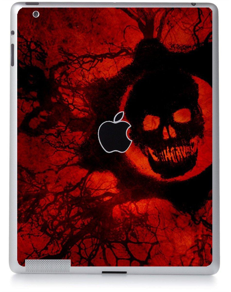 DARK SKULL Apple iPad 2 A1395 SKIN
