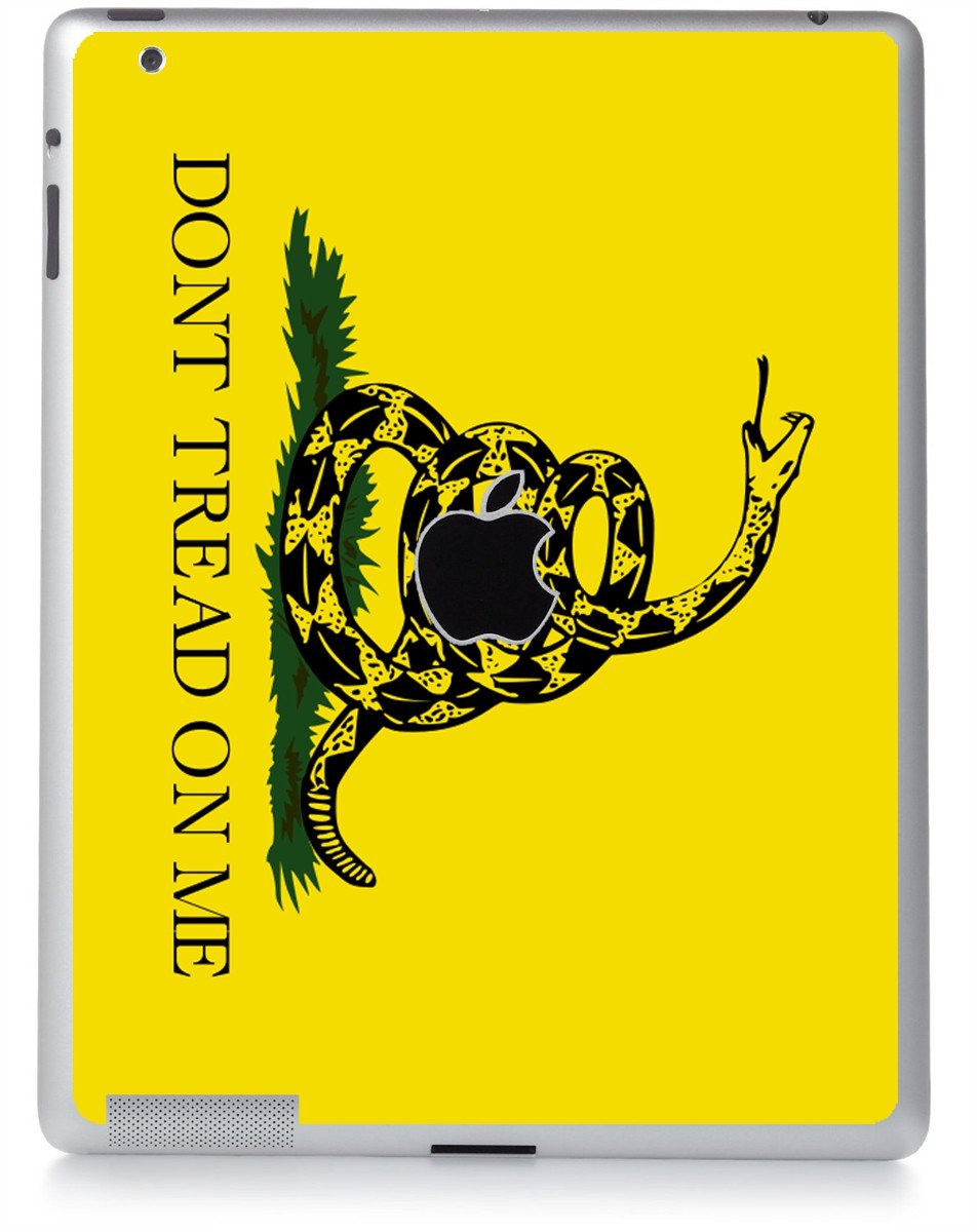 DON'T TREAD ON ME Apple iPad 2 A1395 SKIN