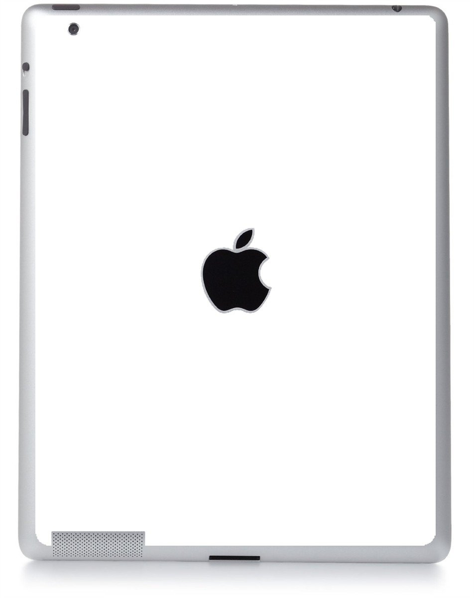 WHITE Apple iPad 4 A1458 SKIN