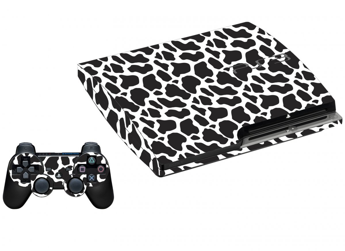 BLACK GIRAFFE PLAYSTATION 3 GAME CONSOLE SKIN