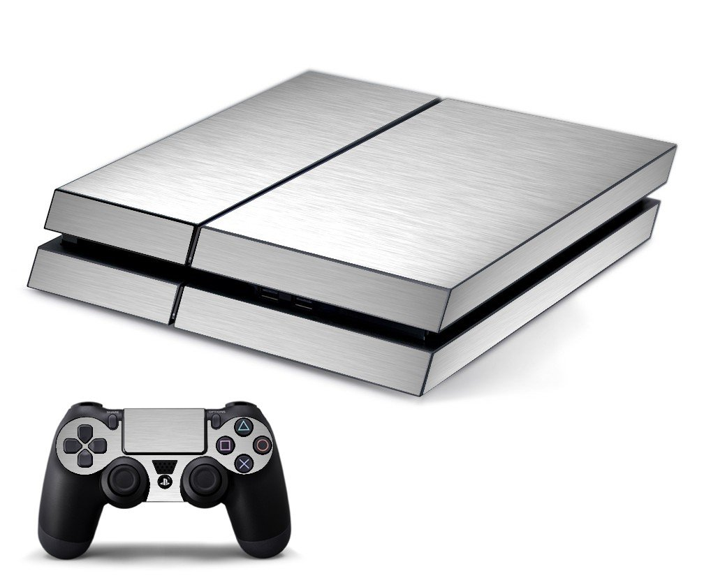 MTS#1 TEXTURED ALUMINUM PLAYSTATION 4 GAME CONSOLE SKIN
