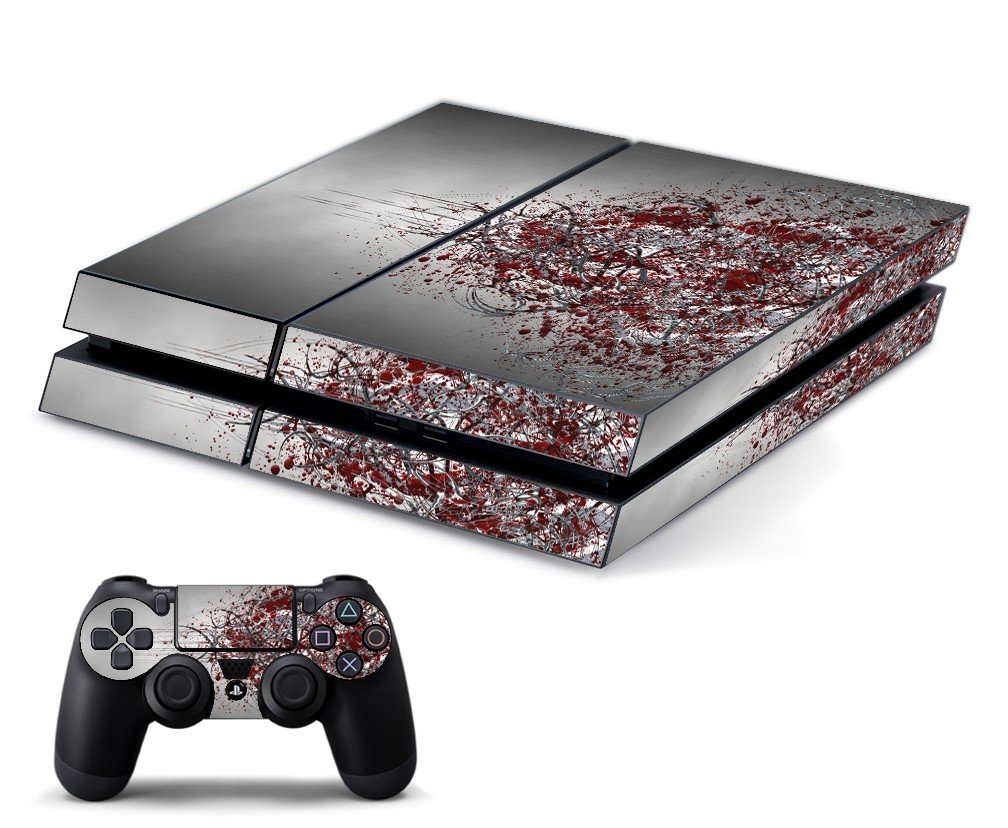 TRIBAL GRUNGE PLAYSTATION 4 GAME CONSOLE SKIN