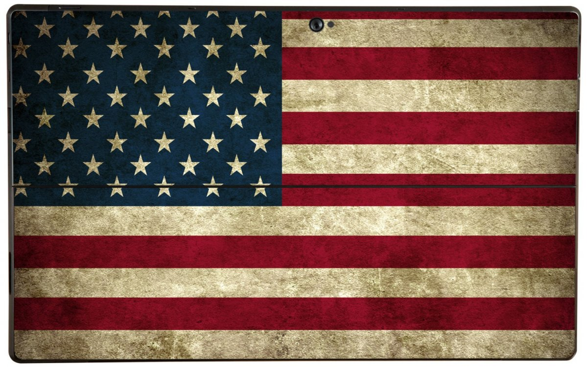 AMERICAN FLAG Microsoft Surface Pro Skin
