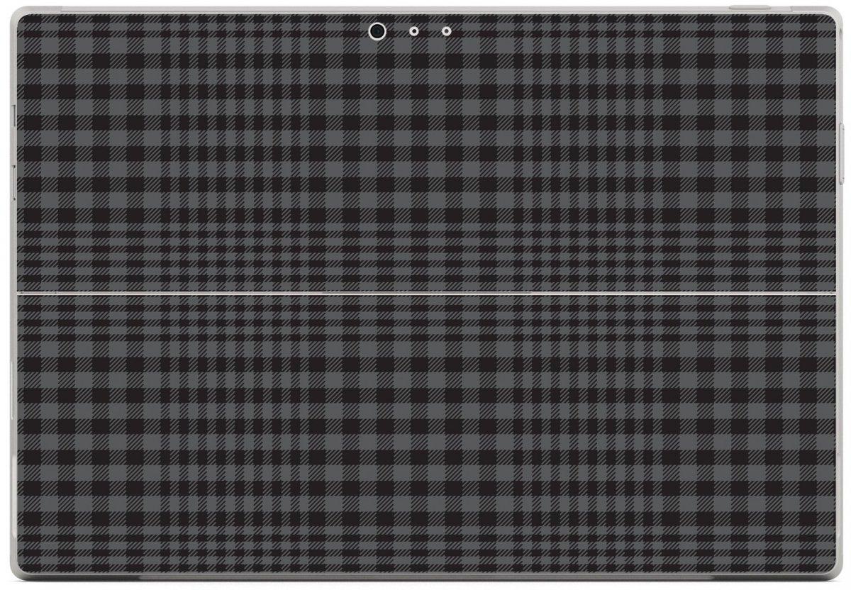 BLACK PLAID Microsoft Surface Pro 3 Skin