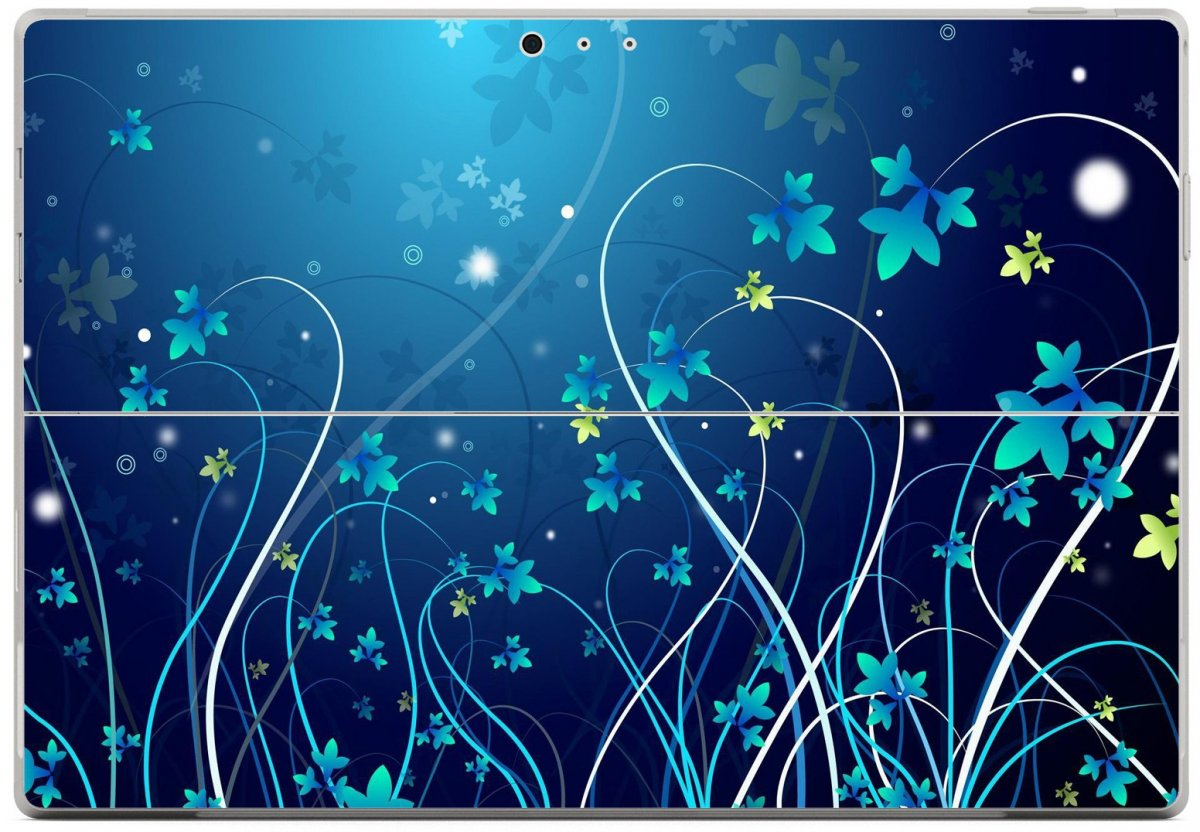 BLUE FLOWER Microsoft Surface Pro 3 Skin