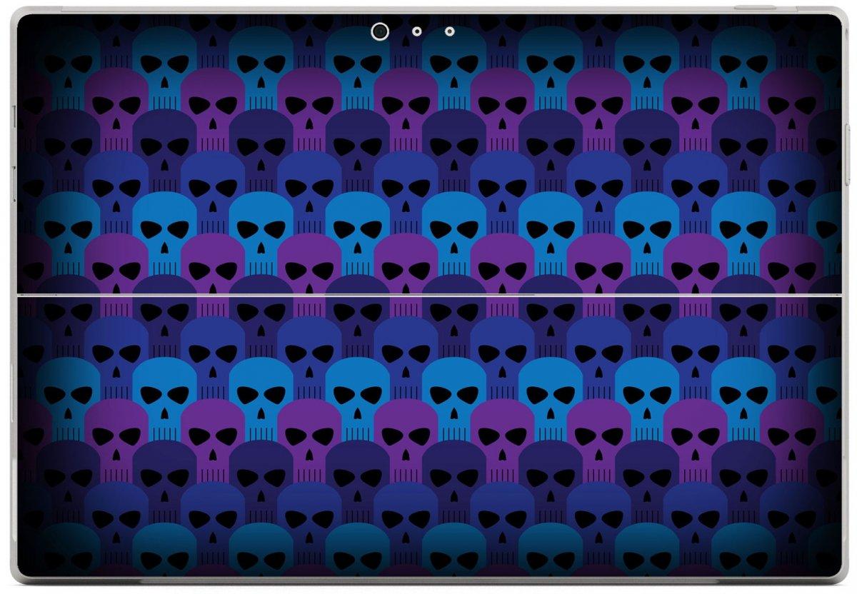 BLUE SKULLS Microsoft Surface Pro 3 Skin