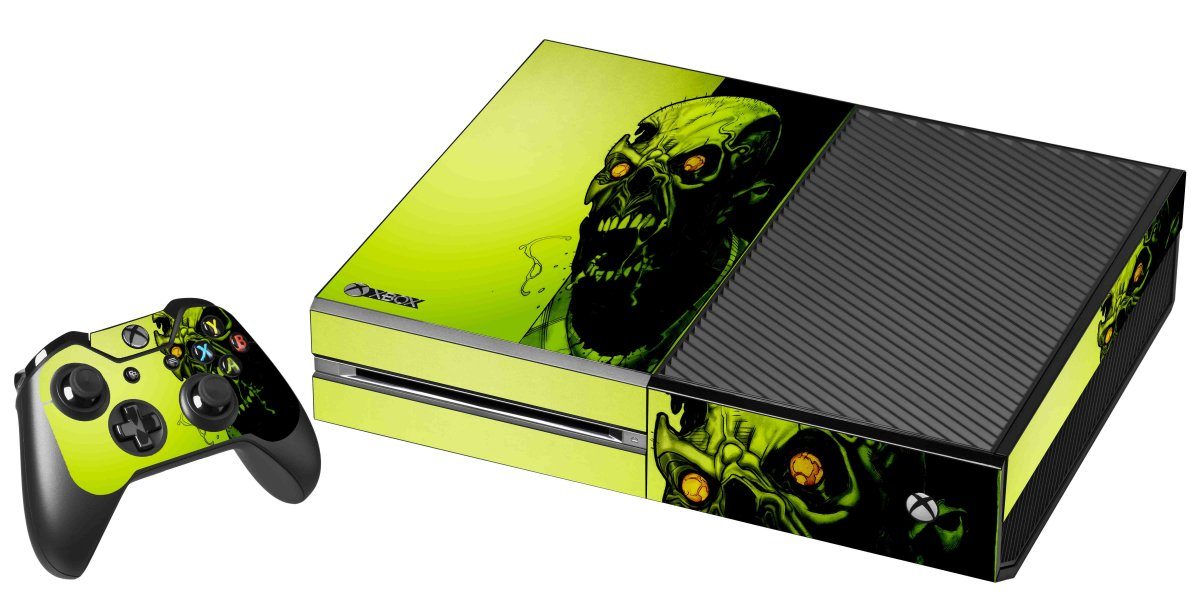 ZOMBIE FACE XBOX ONE GAME CONSOLE SKIN