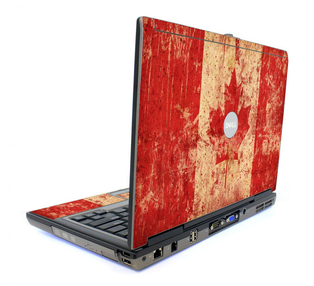 Canada Flag Dell D620 Laptop Skin