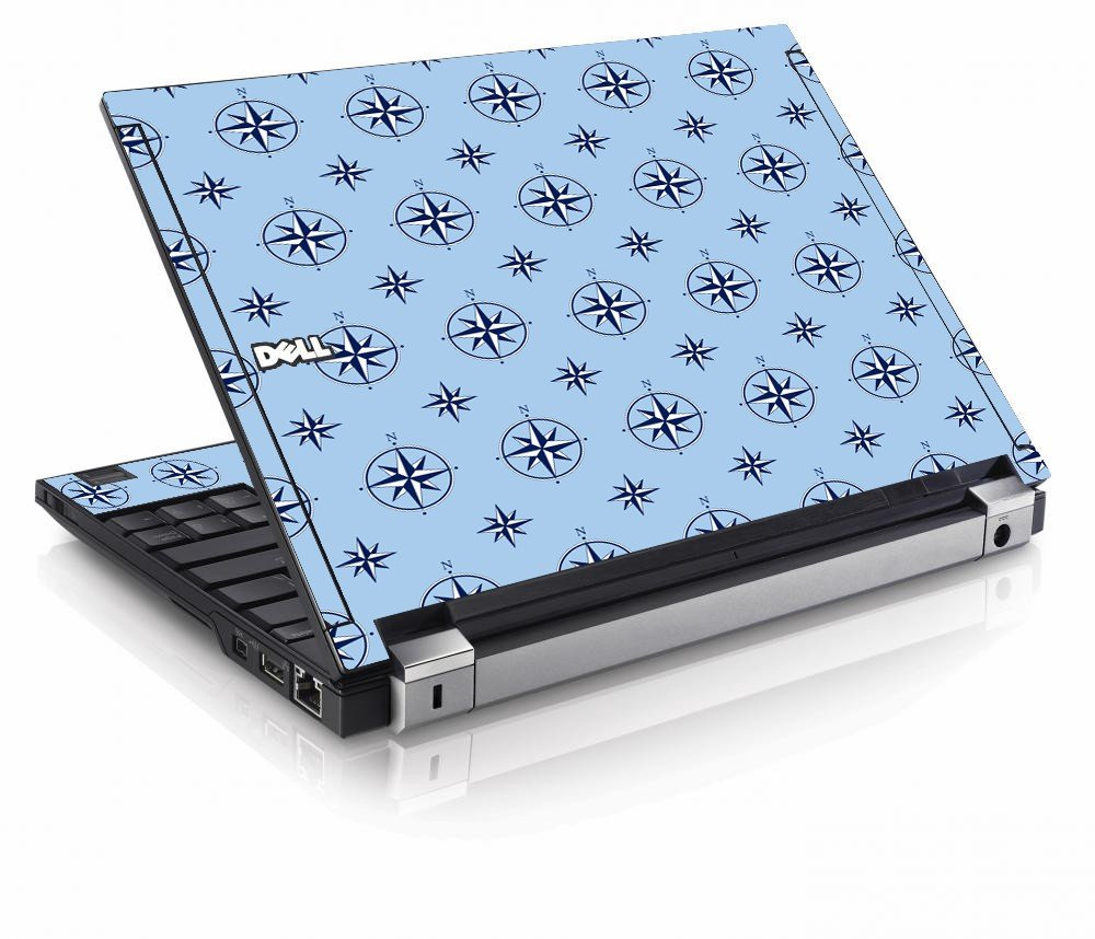 Nautical Blue Dell E4200 Laptop Skin