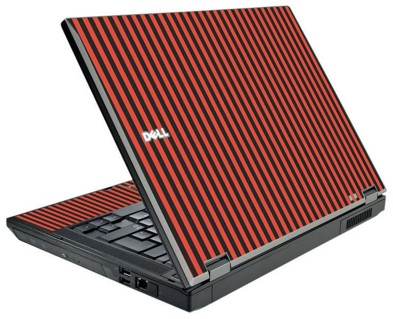 Black Red Versailles Dell E5410 Laptop Skin