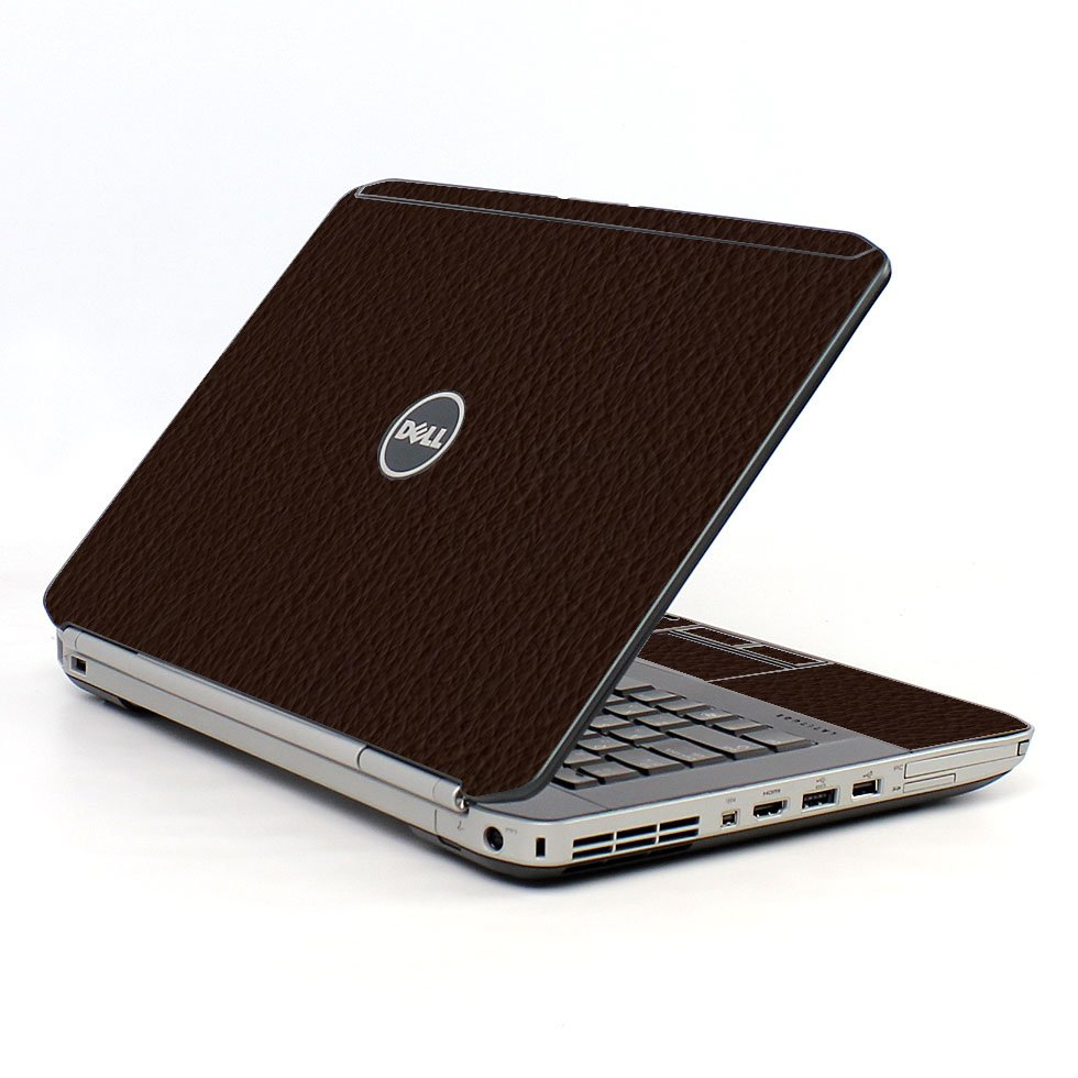 Brown Leather Del E5430 Laptop Skkin
