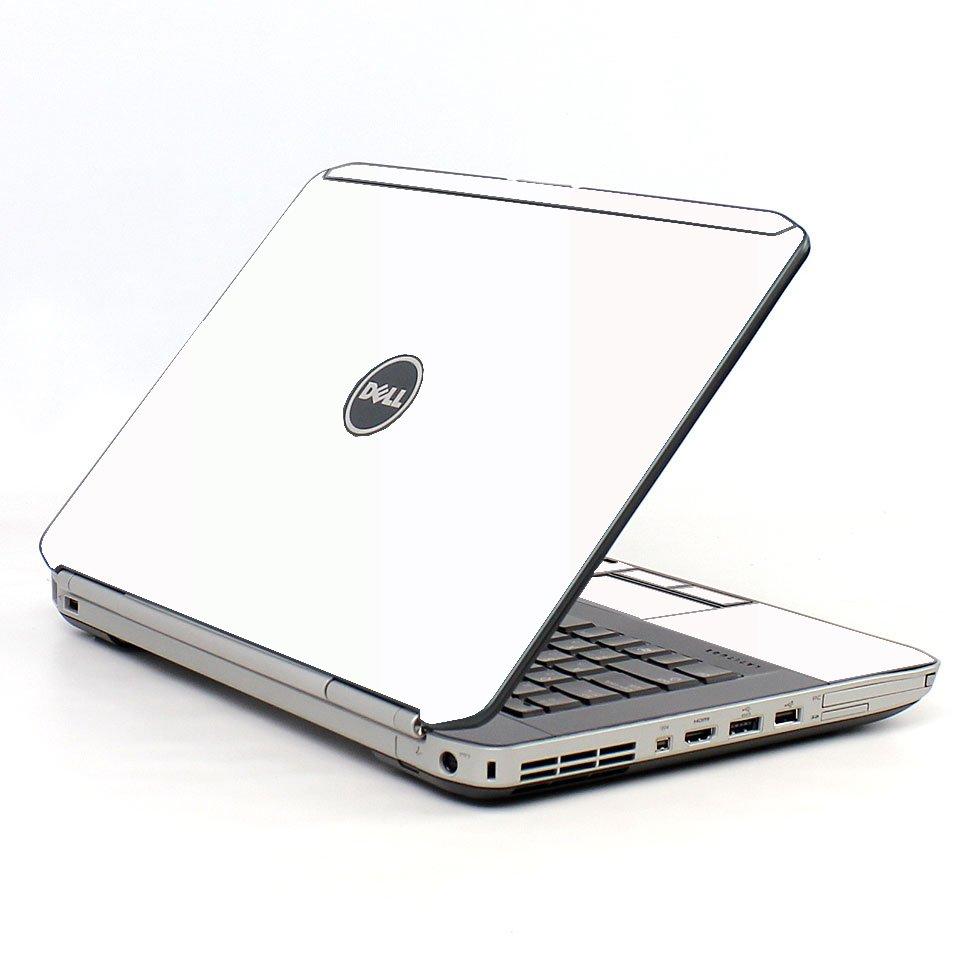 White Dell E5430 Laptop Skin