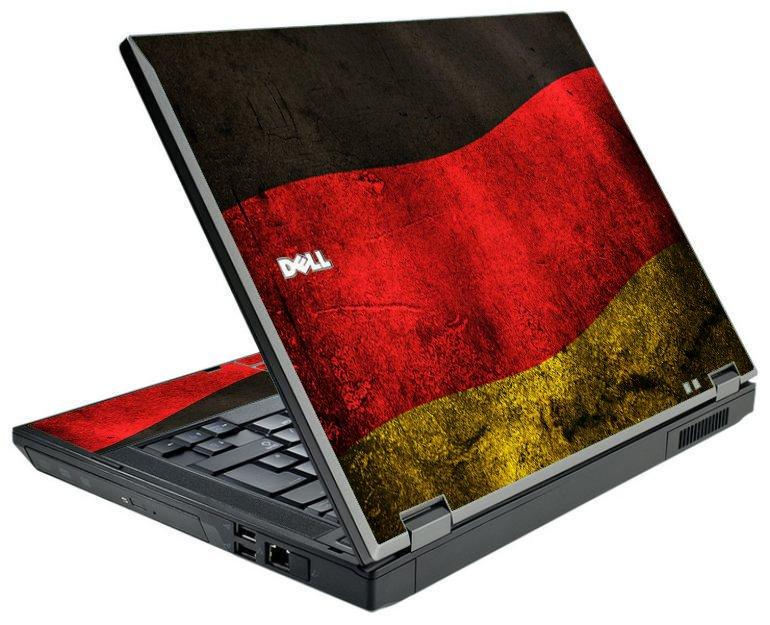 German Flag Dell E5500 Laptop Skin