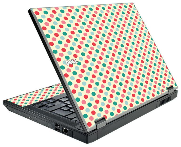 Bubble Gum Circus Dell E5510 Laptop Skin