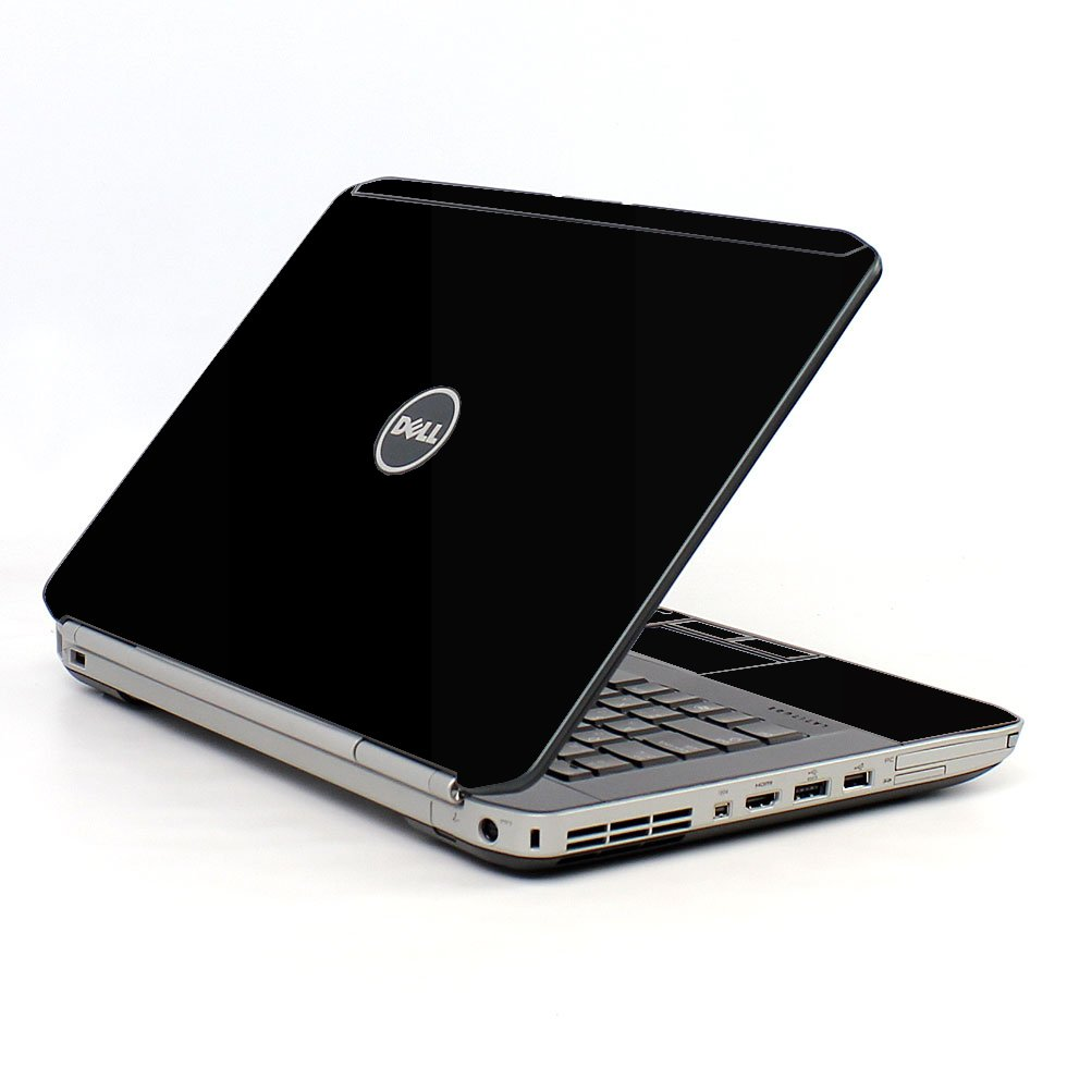 Black Dell E5520 Laptop Skin