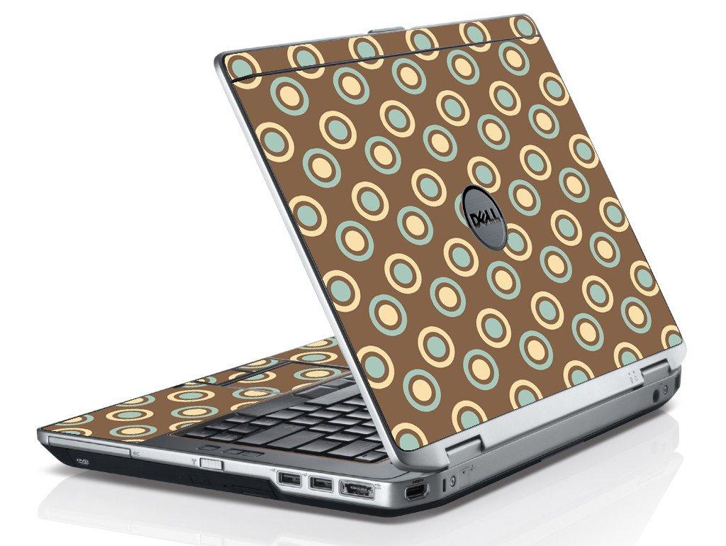 Retro Polka Dot Dell E6230 Laptop Skin