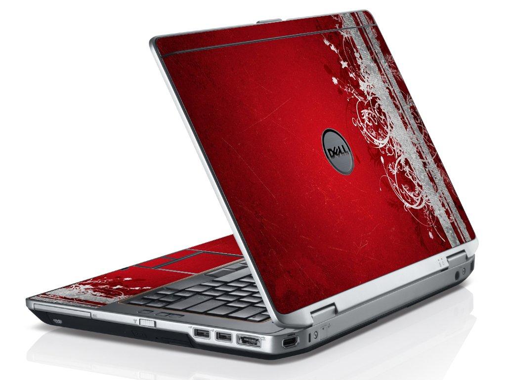 Red Grunge Dell E6320 Laptop Skin